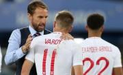 选择你的英格兰队在世界杯上面对哥伦比亚队